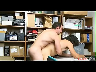HOT straight guys fucks JAILER to get his way out