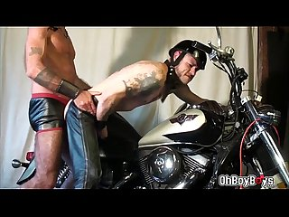 Ray rides Damons ass in his motorcycle