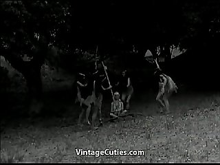 Tribal Dancing of Naked Indian Girls