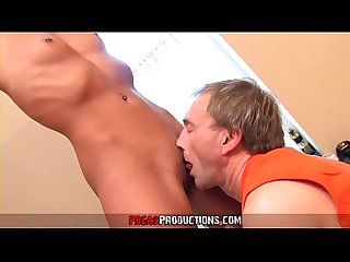 Father Fucks Sons Girlfriends and Cums all over their Tits and Face