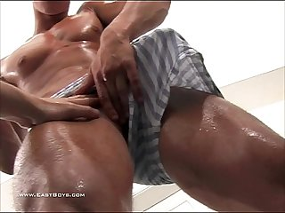Ripped Czech Model Gets His Big Dick Pulled